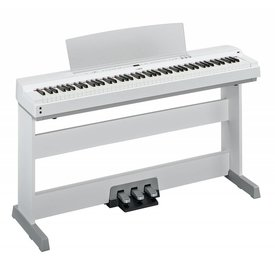 Yamaha Yamaha P255WH 88-Key White Digital Piano w/ Polished White Accents