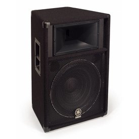 """Yamaha Yamaha S115V Carpeted 15"""" 2-Way Loudspeaker System"""