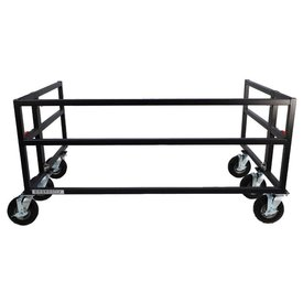"""Pageantry Innovations Pageantry AR-40 Folding Field Rack 37"""" H x 72"""" W x 48"""" D (20"""" D footprint when collapsed)"""