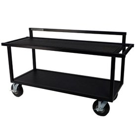"Pageantry Innovations Pageantry KC-15 Open Frame Synth Cart 39"" H x 68"" W x 24"" D"