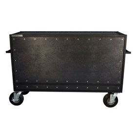 "Pageantry Innovations Pageantry KC-30 Enclosed Synth Cart 42"" H x 68"" W x 24"" D"