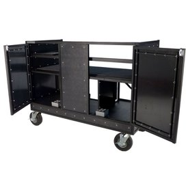 "Pageantry Innovations Pageantry KC-35 Seated Synth/Mixer Combo Cart 48.5"" H x 68"" W x 30"" D"