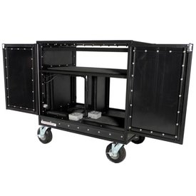 """Pageantry Innovations Pageantry MC-20 Double Mixer Cart 48.5""""H x 51"""" W x 30"""" D"""