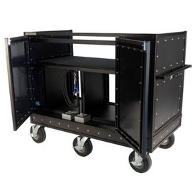 """Pageantry Innovations Pageantry MC-25 Extended Double Mixer Cart 48.5""""H x 62.75"""" W x 30"""" D"""