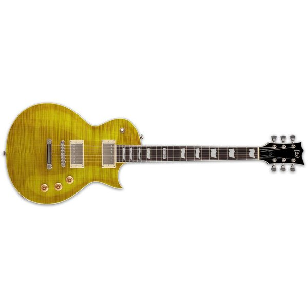 LTD ESP LTD EC-256 Electric Guitar Flamed Maple Lemon Drop