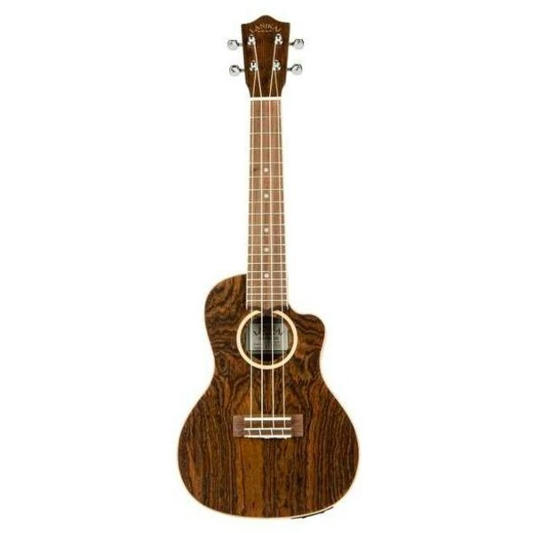 Lanikai Lanikai Figured Bocote Thin Body Concert with A/E Ukulele