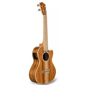 Lanikai Lanikai All Solid Acacia Tenor with Kula Preamp A/E Ukulele
