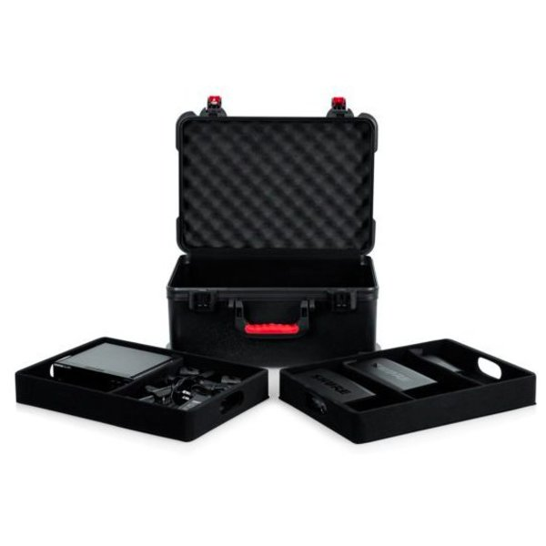 Gator Gator GTSA-MICW7 TSA ATA Case for (7) Wireless Mics & Accessories