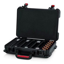 Gator Gator GTSA-MICW6 TSA ATA Molded Case for (6) Wireless Mics