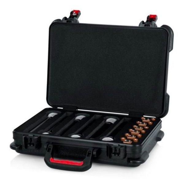 Gator Gator GTSA-MICW6 TSA ATA Molded Case for (6) Wireless Mics