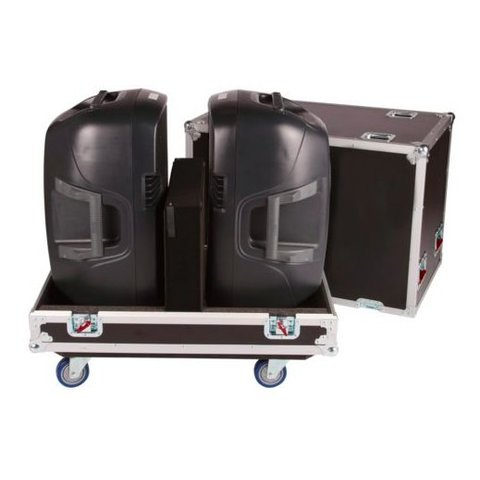 "Gator G-TOUR SPKR-215 Tour Style Transporter for (2) 15"" speakers"