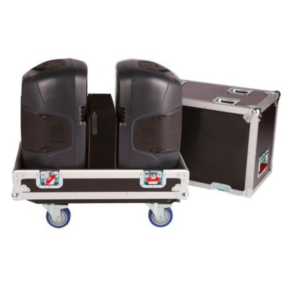 "Gator Gator G-TOUR SPKR-212 Tour Style Transporter for (2) 12"" speakers"