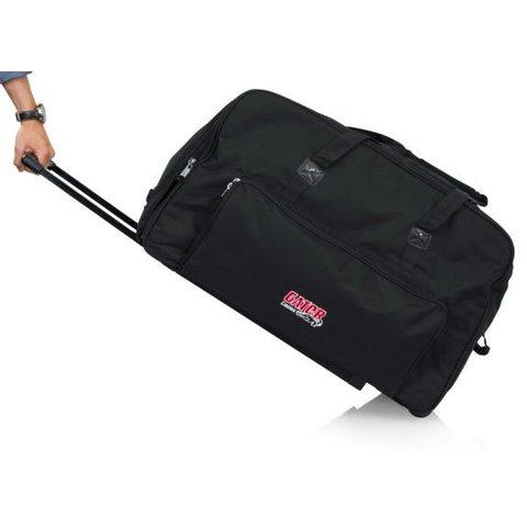 "Gator GPA-715 Rolling speaker bag for most 15"" speakers"