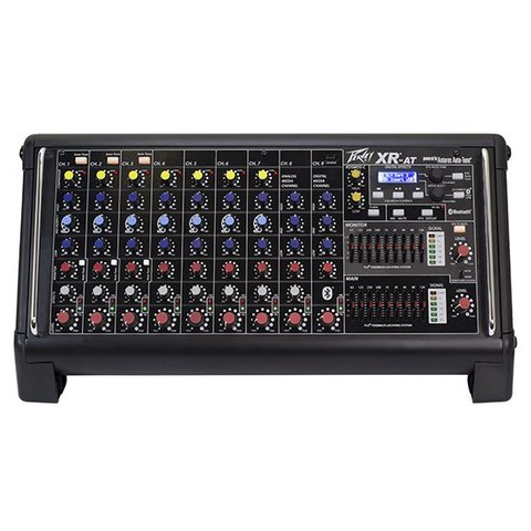 Peavey XR-AT 1000W 9-Channel Powered Mixer w/ Antares Auto-Tune