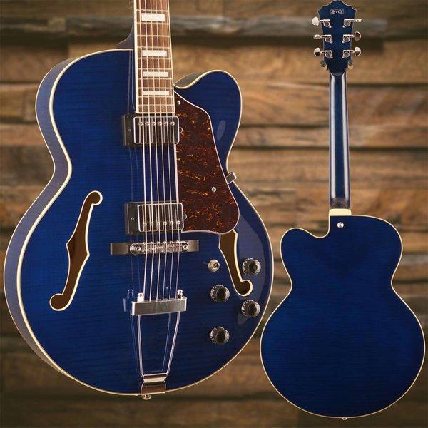 Ibanez Ibanez AF Artcore 6str Electric Guitar  - Transparent Blue