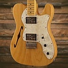 Vintage Modified '72 Tele Thinline, Maple Fingerboard, Natural - Used