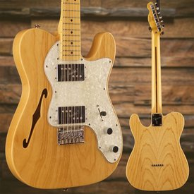 Squier Vintage Modified '72 Tele Thinline, Maple Fingerboard, Natural - Used