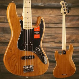 Fender Limited Edition American Pro Jazz Bass Roasted Ash, Maple Fingerboard, Natural SN/18013238