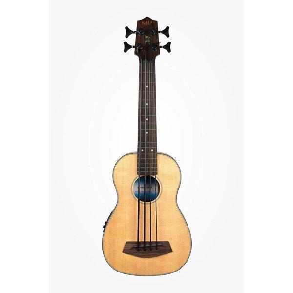 Kala Kala Solid Spruce Top Acous/Elec UBASS-SSMHG-FL U-Bass Fretless w/Bag