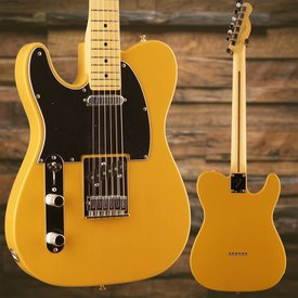 Fender Player Telecaster Left-Handed Maple Fingerboard Butterscotch Blonde