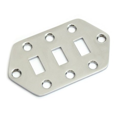 Jaguar Pickup Selector Switch Control Plate, Chrome