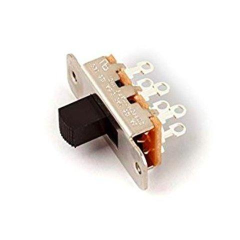 Jaguar/Jazzmaster Slide Switch, DPDT, Black