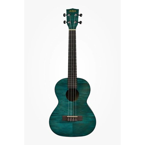 Kala Exotic Mahogany KA-TEMB Tenor Ukulele Transparent Blue Satin/Exotic Mahog