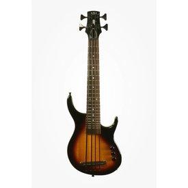 Kala Kala Solid Body UBASS-SUB4FS-BRST U-Bass, 4-String, Fretted Gloss Sunburst w Bag