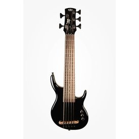 Kala Kala UBASS-SUB5FS-SBK U-Bass, Solid Body, 5-String, Fretted, Gloss Black w Bag