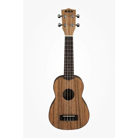 Kala Pacific Walnut Series KA-PWS Soprano Ukulele, Satin/Pacific Walnut
