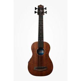 Kala Kala All Solid Acous/Elec UBASS-SMHG-FS U-Bass Fretted w/Case, Satin/Mahogany