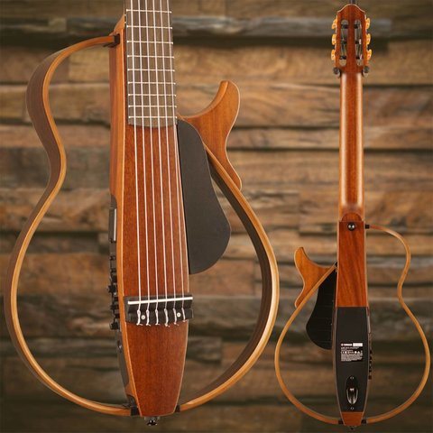 Yamaha SLG200N NT Nylon String Silent Guitar Natural