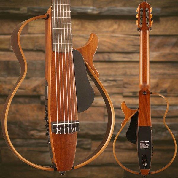 Yamaha Yamaha SLG200N NT Nylon String Silent Guitar Natural