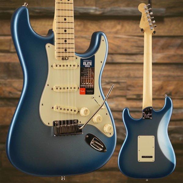 Fender American Elite Stratocaster, Maple Fingerboard, Sky Burst Metallic S/N US18073650, 8lbs, 2oz