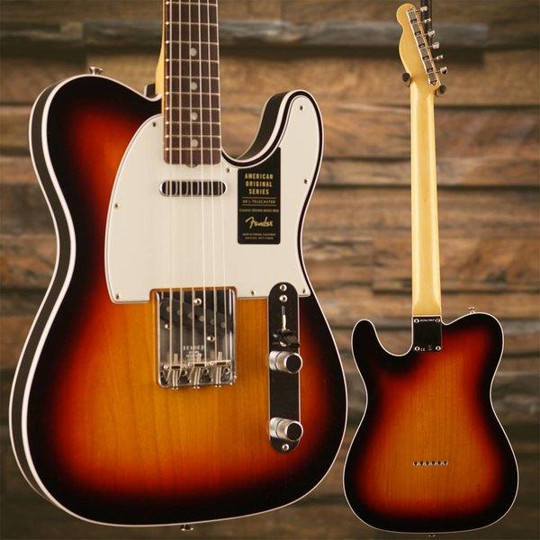Fender American Original '60s Telecaster, Rosewood Fingerboard, 3-Color Sunburst