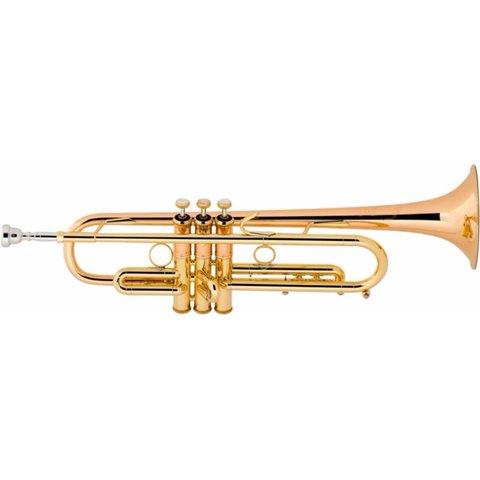 Bach LT190L1B Stradivarius Commercial Profess Bb Trumpet .462'' Bore Lacquer