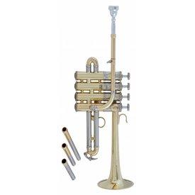 Bach Bach AP190 Stradivarius Artisan Professional A/Bb Piccolo Trumpet, Lacquer