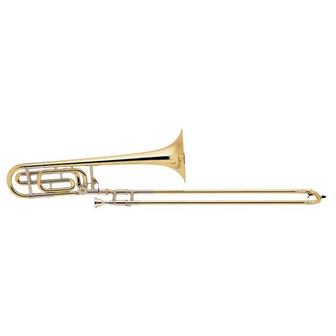 Bach 42B Stradivarius Professional Tenor Trombone w/ F Rotor Traditional Wrap