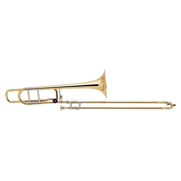 Bach Bach 36BO Stradivarius Professional Tenor Trombone w/ F Rotor, Open Wrap