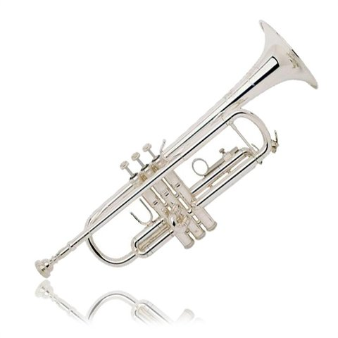 Bach TR200S Performance Bb Trumpet, Silver Plated w/ Case