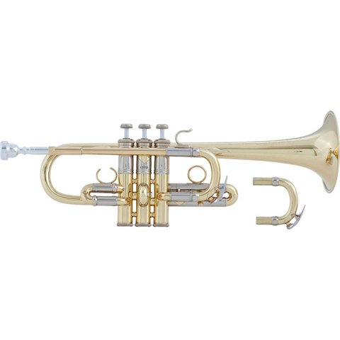Bach AE190 Stradivarius Artisan Professional Eb Trumpet, Lacquer Finish