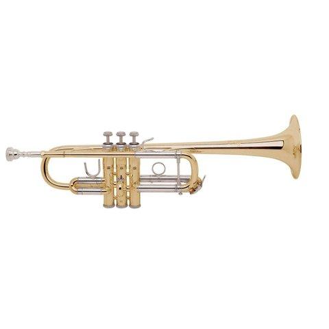 Bach C180L239 Stradivarius Professional C Trumpet, Clear Lacquer