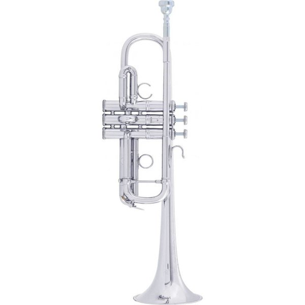 Bach Bach AC190S Stradivarius Artisan Professional C Trumpet, Silver Plated