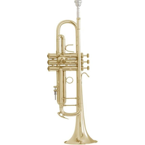 Bach Bach LT18072 Stradivarius Lightweight Professional Bb Trumpet, #72 Bell, Lacquer