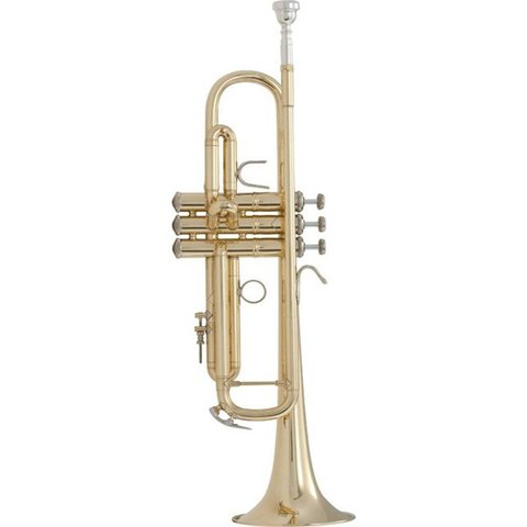 Bach LR18072 Stradivarius 180 Series Professional Bb Trumpet, #72 Bell, Lacquer