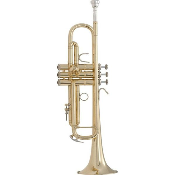 Bach Bach LR18072 Stradivarius 180 Series Professional Bb Trumpet, #72 Bell, Lacquer