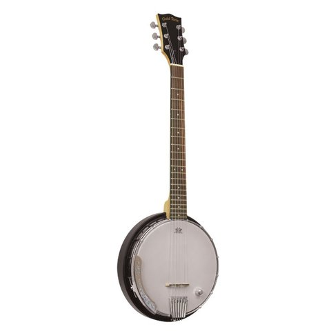 Gold Tone AC-6+ Acoustic Composite Banjo Guitar w/ Pickup & Bag