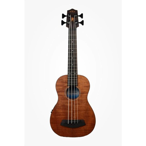 Kala Kala UBASS-EM-FSRW Acoustic/Electric UBass, Mahogany w/ Roundwound Strings