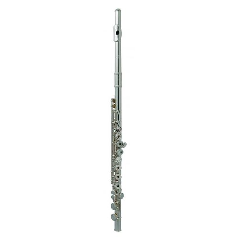 Armstrong 103OS Open Hole Student Flute, Silver Plated, Offset G
