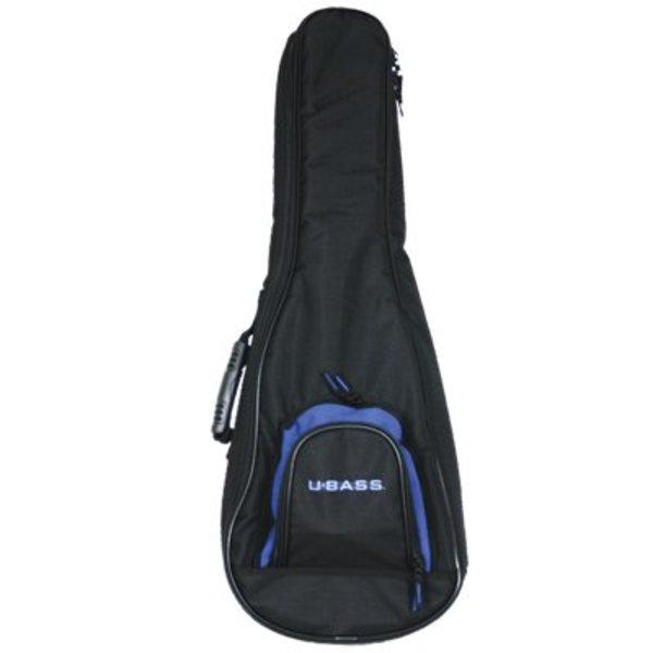 Kala Kala DUB-UBASS-SB Deluxe Padded Backpack Black Logo Bag/Fits Solid Body U-Bass